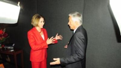 Nancy Pelosi, este domingo en 'Al Punto'