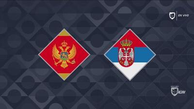Montenegro 0-2 Serbia - GOLES Y RESUMEN – Grupo 4 UEFA Nations League