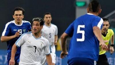 Con Nicolás Lodeiro como titular, Uruguay derrotó 3-0 a Uzbekistán en la China Cup