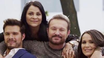 La familia de Arturo Peniche rompe el molde entre las familias de actores