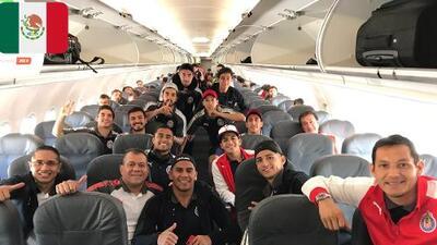 Chivas viajó al congelado Toronto