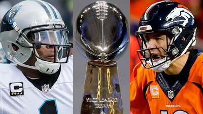 ¡Listo el Super Bowl 50: Carolina Panthers contra Denver Broncos!
