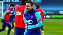 Messi entrena con normalidad y podría estar en la Final