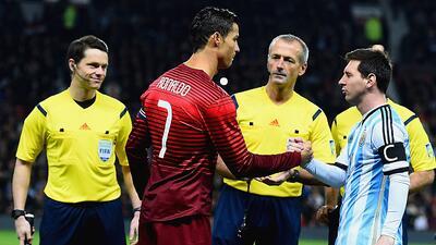 Cuando Lionel Messi y Cristiano Ronaldo opacan al campeón de América y Europa