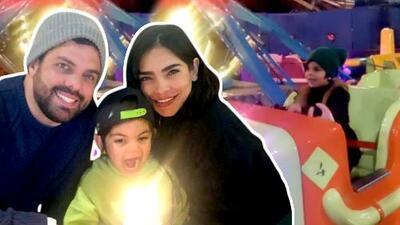 """""""Éste es mi cumpleaños más bueno del mundo"""": Matteo feliz por el festejo que le preparó Alejandra Espinoza"""