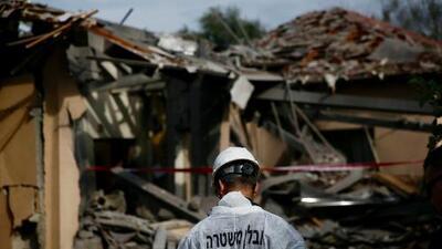Netanyahu acorta su visita a Washington debido a cohete lanzado de Gaza al norte de Tel Aviv