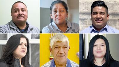 Los rostros de los hispanos indocumentados que trabajaron para Donald Trump (fotos)