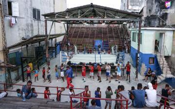 En fotos: Una visita al histórico gimnasio Rafael Trejo en la Habana Vieja, Cuba