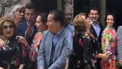 Horas antes del asesinato: surge video de Isaías Gómez junto a su pareja, la actriz Sharis Cid