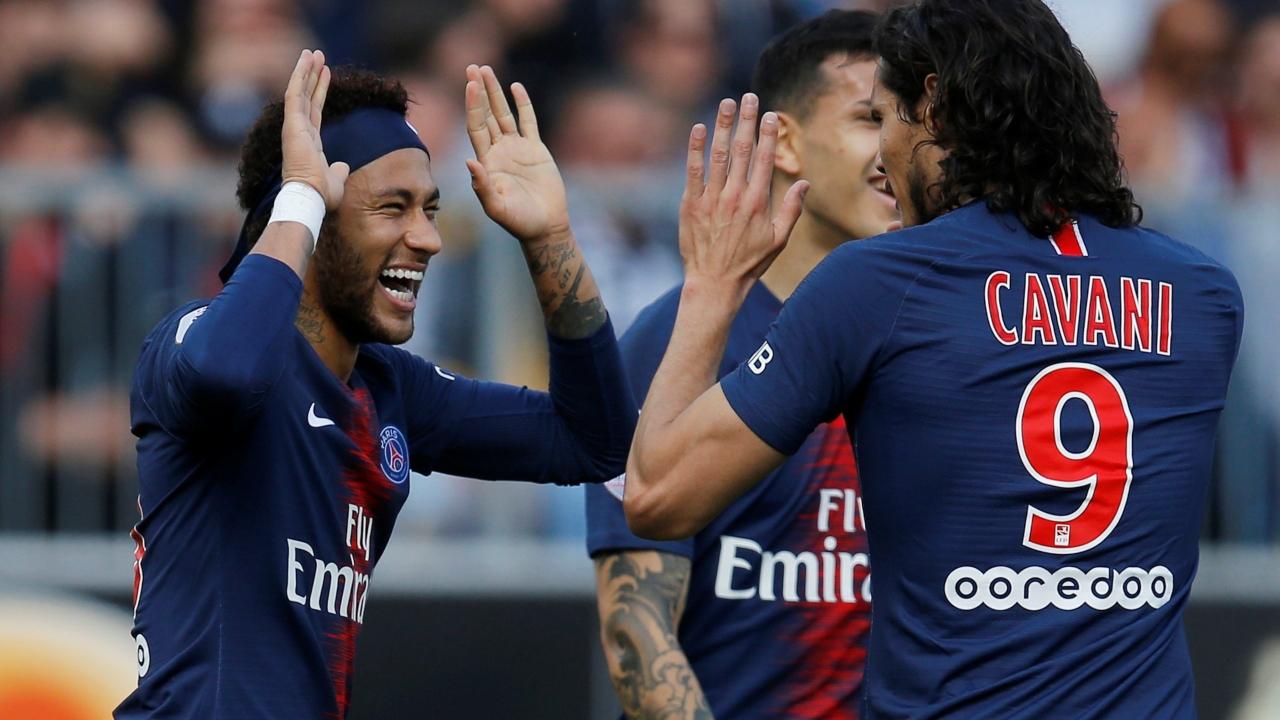 En fotos: Neymar y Di Maria marcaron el camino del triunfo para PSG sobre Angers
