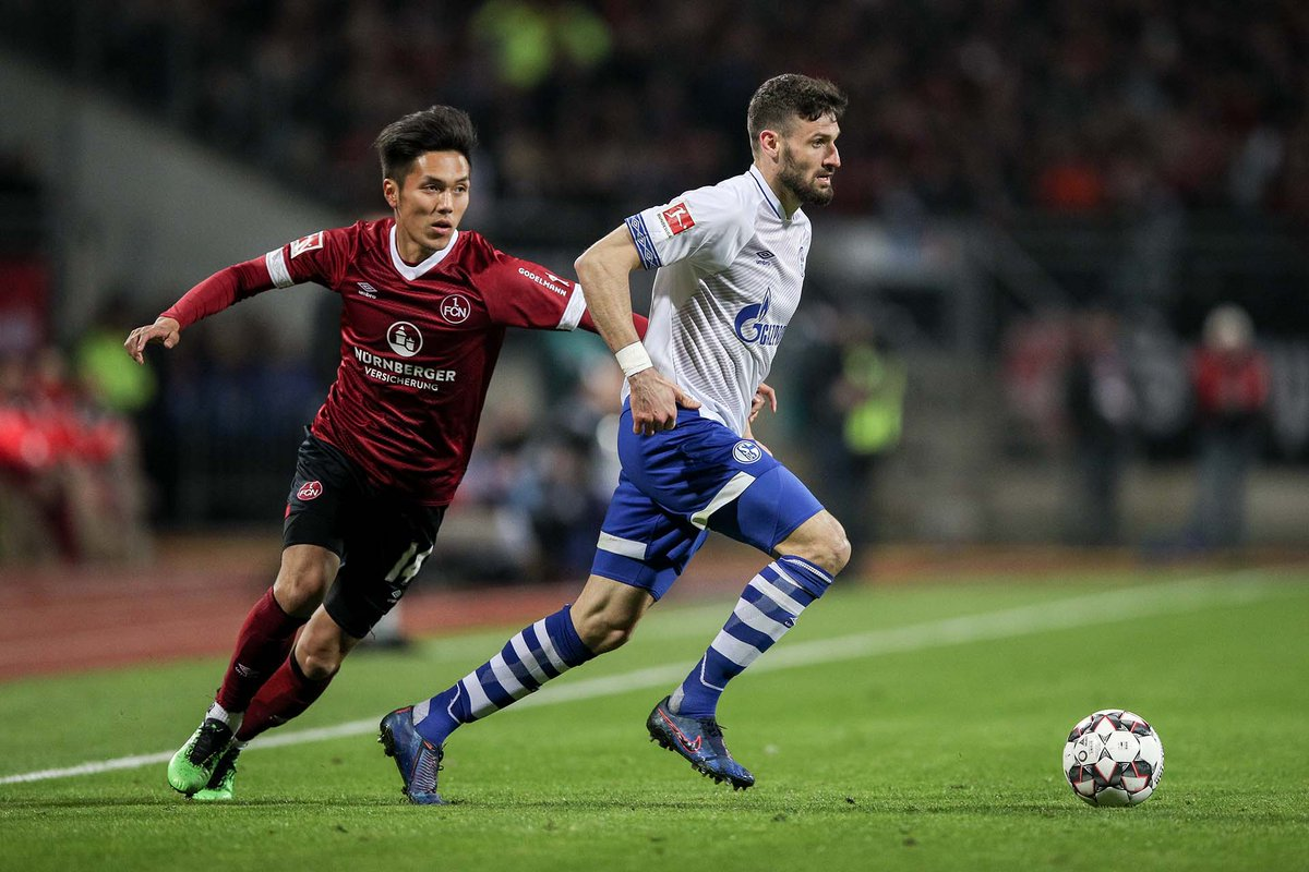 En fotos: la situación del Nürnberg no cambia tras empatar en casa con el Schalke 04