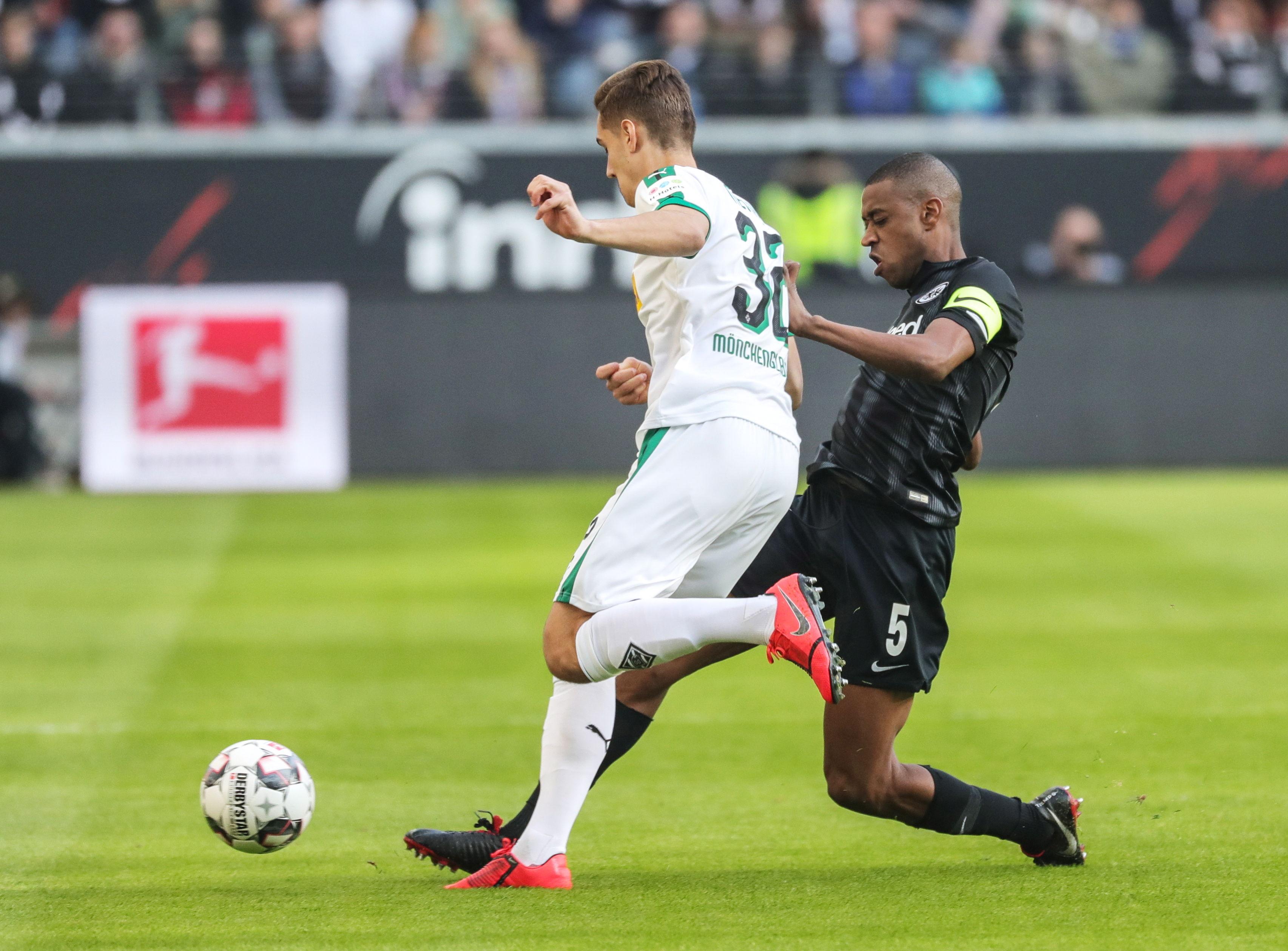 En fotos: Eintracht Borussia igualó 1-1 contra Monchengladbach en la Bundesliga
