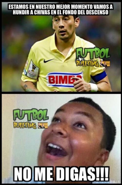 Los Memes Del América Vs Chivas Deportes Liga Mx Univision