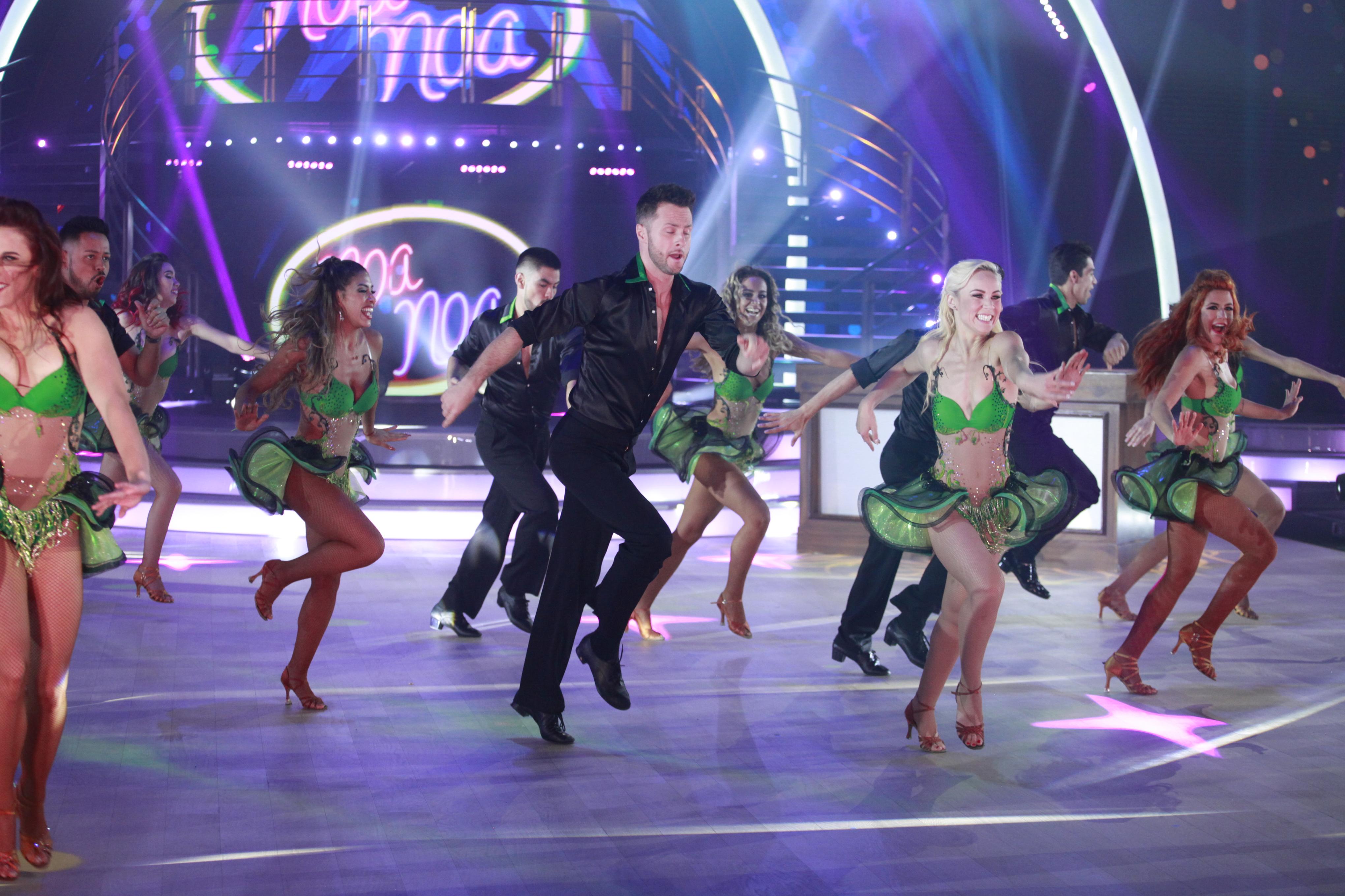 En fotos: así fue el drama en la quinta gala de Mira Quién Baila