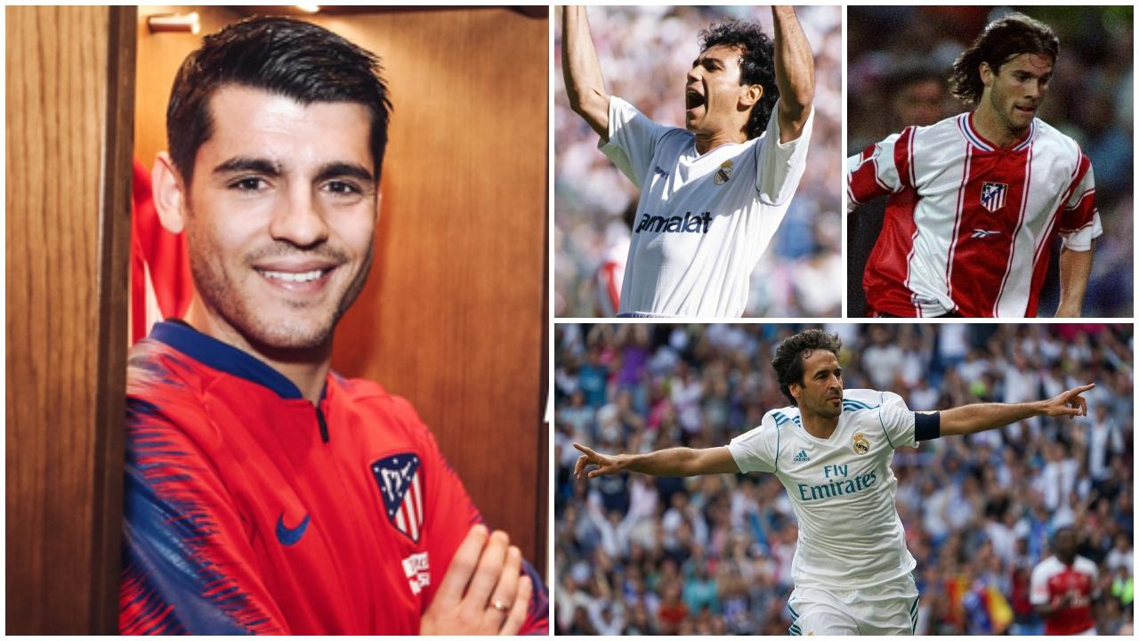 Morata se une a la lista de cracks que se han vestido con las playeras del Atlético de Madrid y Real Madrid
