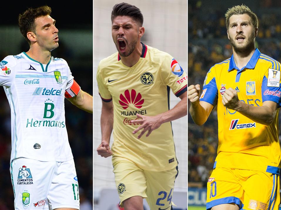 Oribe Peralta contra la invasión extranjera en el goleo de la Liga MX