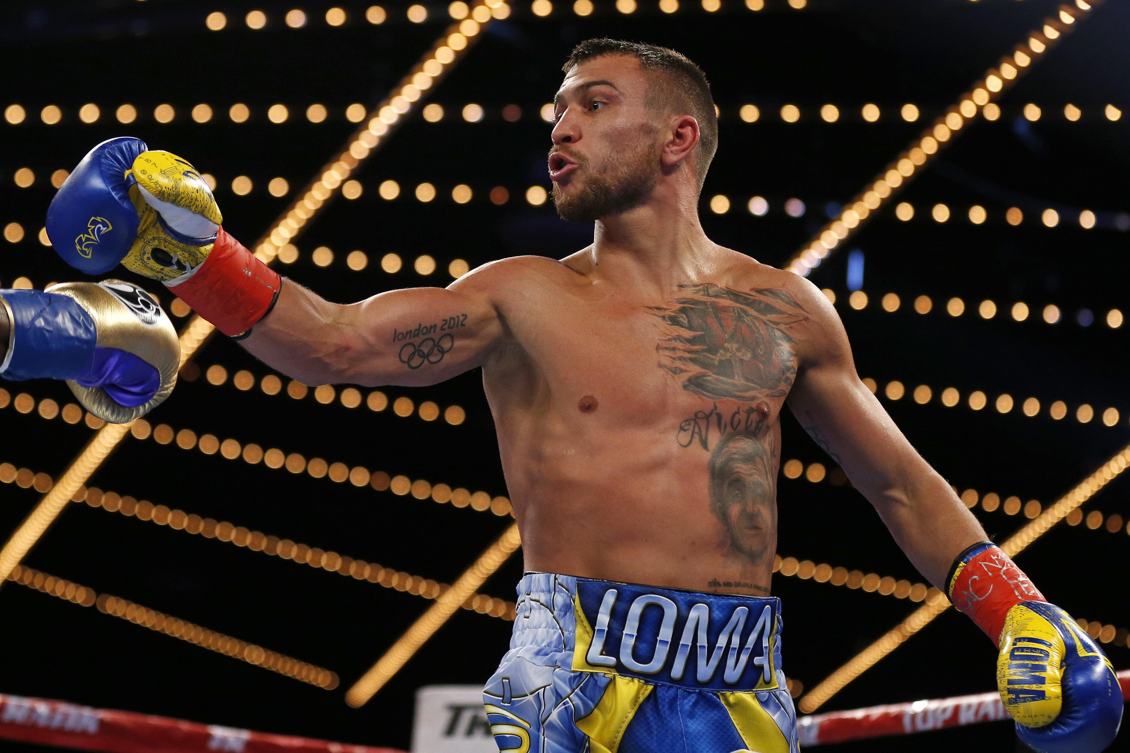 Teofimo nombra a sus rivales, Lomachenko se burla de él   Deportes Boxeo    TUDN Univision