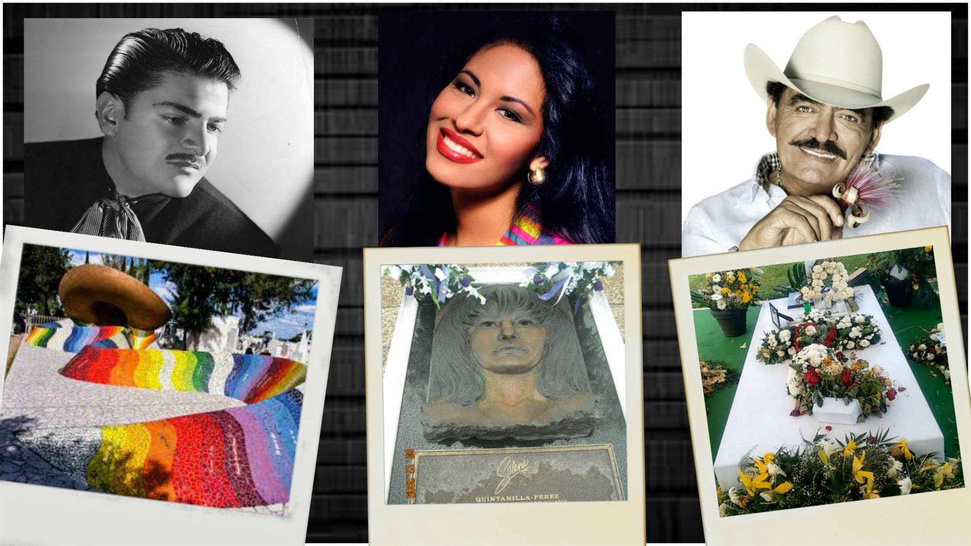 Las tumbas de estos cantantes de regional mexicano: una atracción para turistas y fanáticos