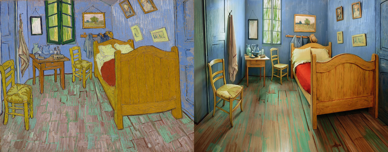 Duerme en cuarto inspirado en cuadro de Van Gogh por $10 ...