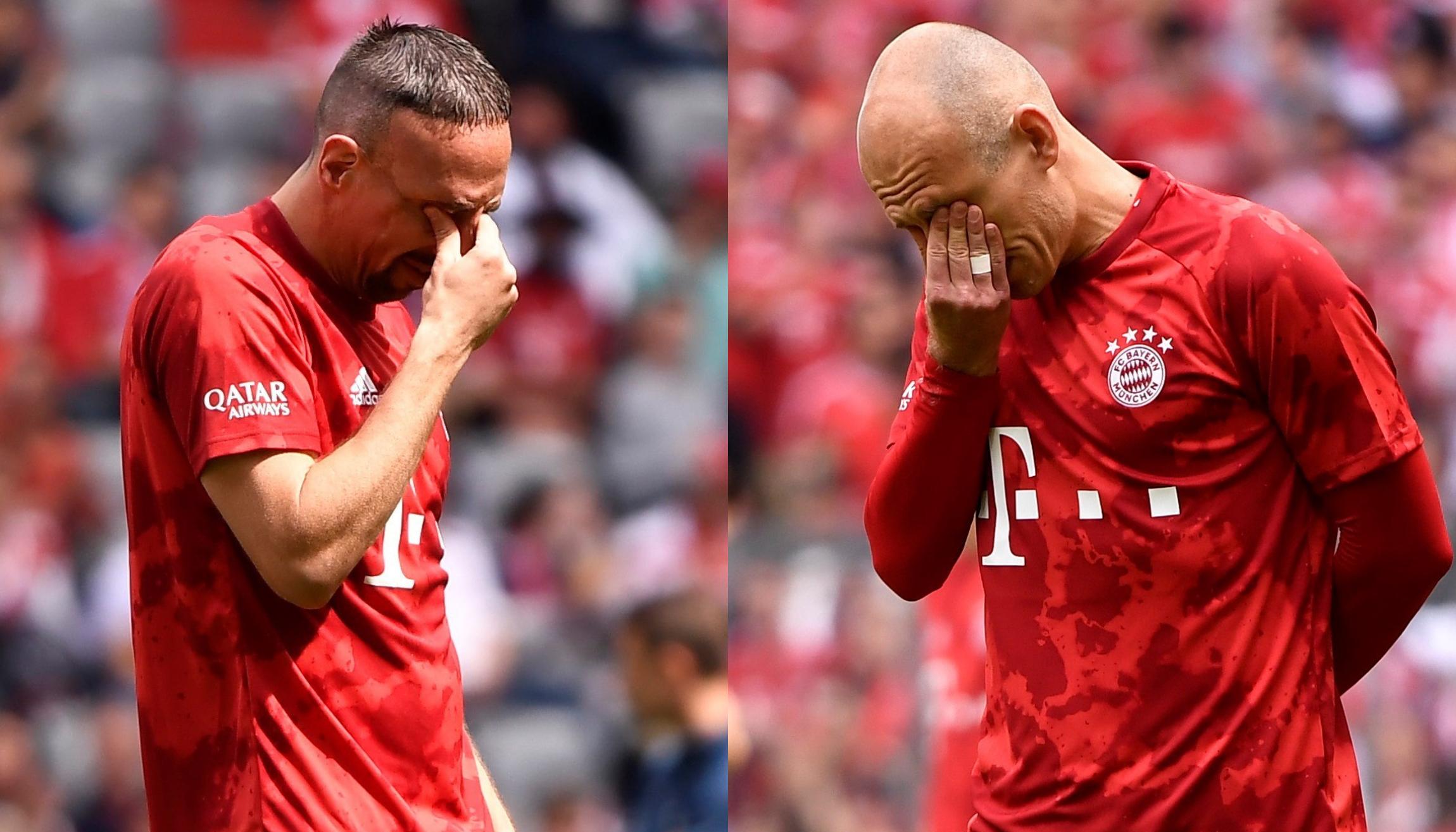 Imposible no emocionarse: la despedida de Franck Ribery y Arjen Robben del Bayern Munich