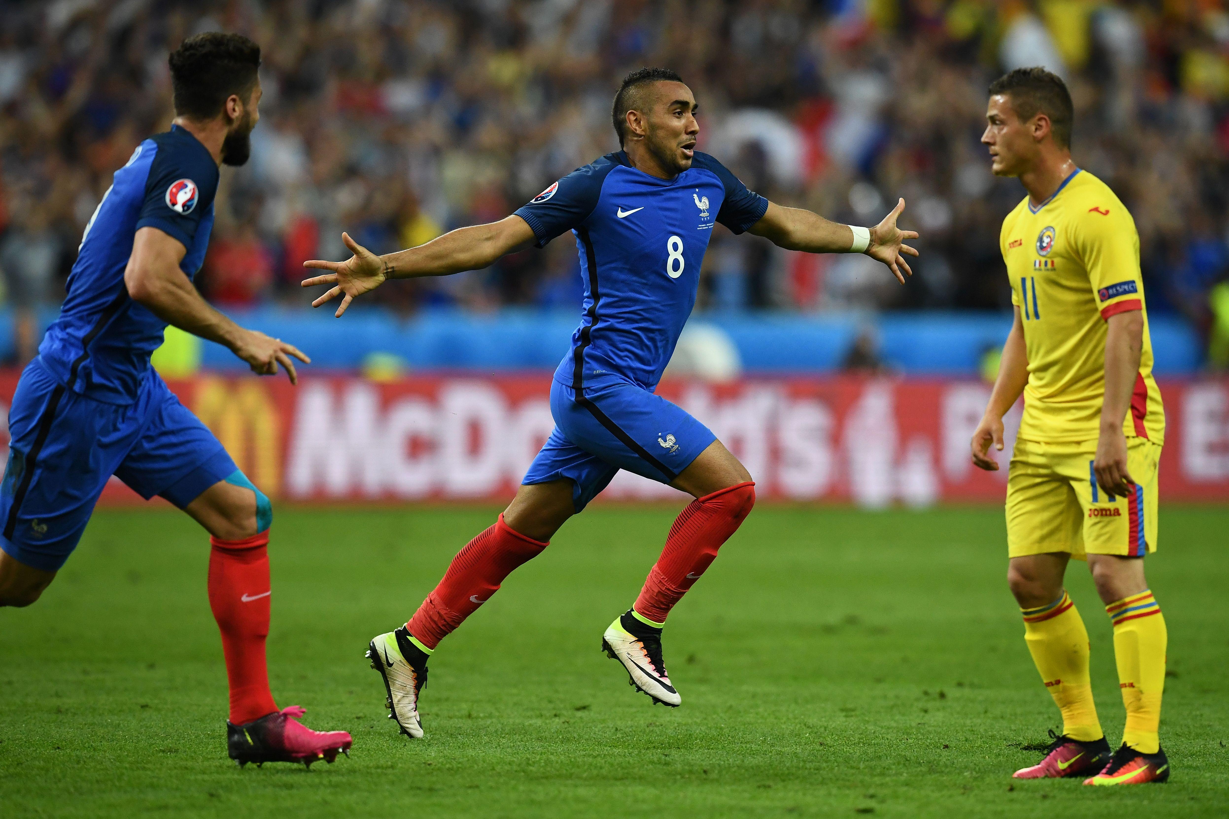 Mira como Payet salvó el triunfo de Francia ante Rumania