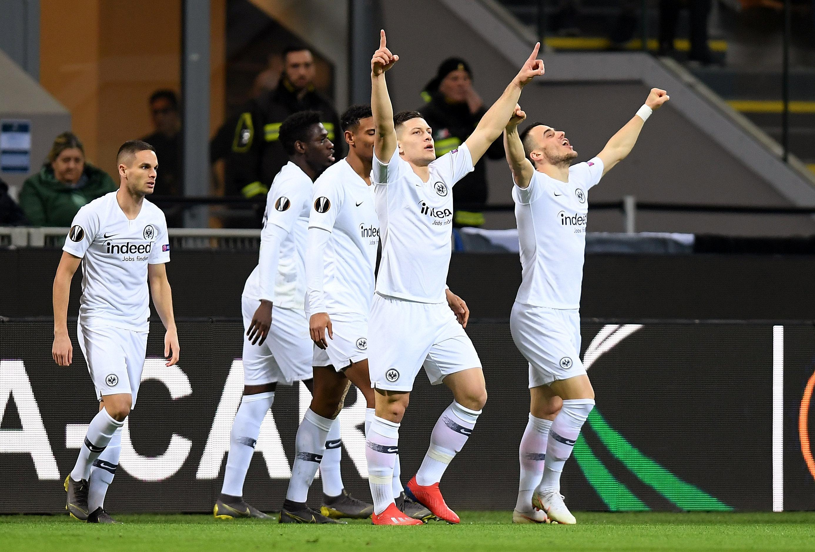 En fotos: Inter de Milán es eliminado de la Europa League por el Eintracht Frankfurt con gol tempranero