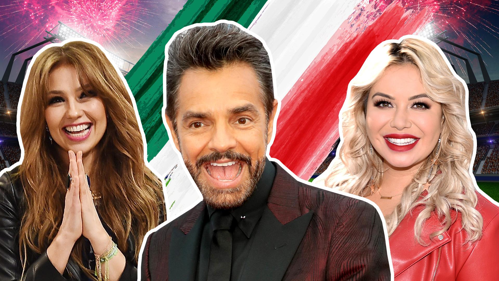 Así reaccionaron los famosos por el triunfo de México en el Mundial de Rusia 2018