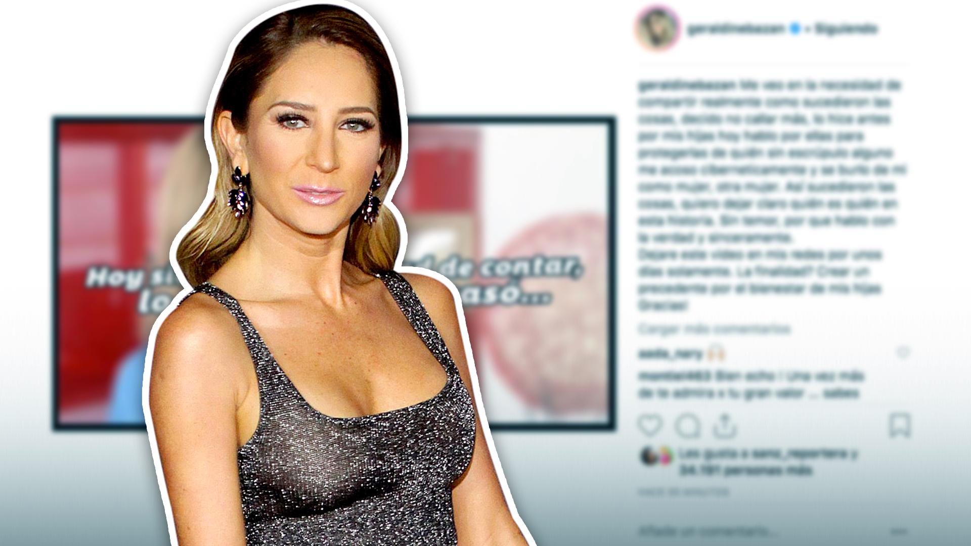 Estos son los famosos que han reaccionado a las revelaciones que hizo Geraldine Bazán en su polémico video