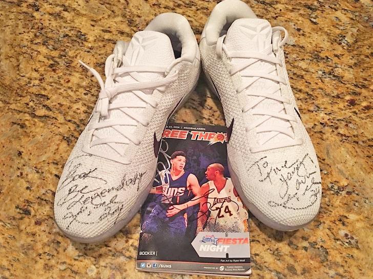 Devin Booker honra a Kobe Bryant con un sentimental tributo   Deportes NBA   TUDN Univision