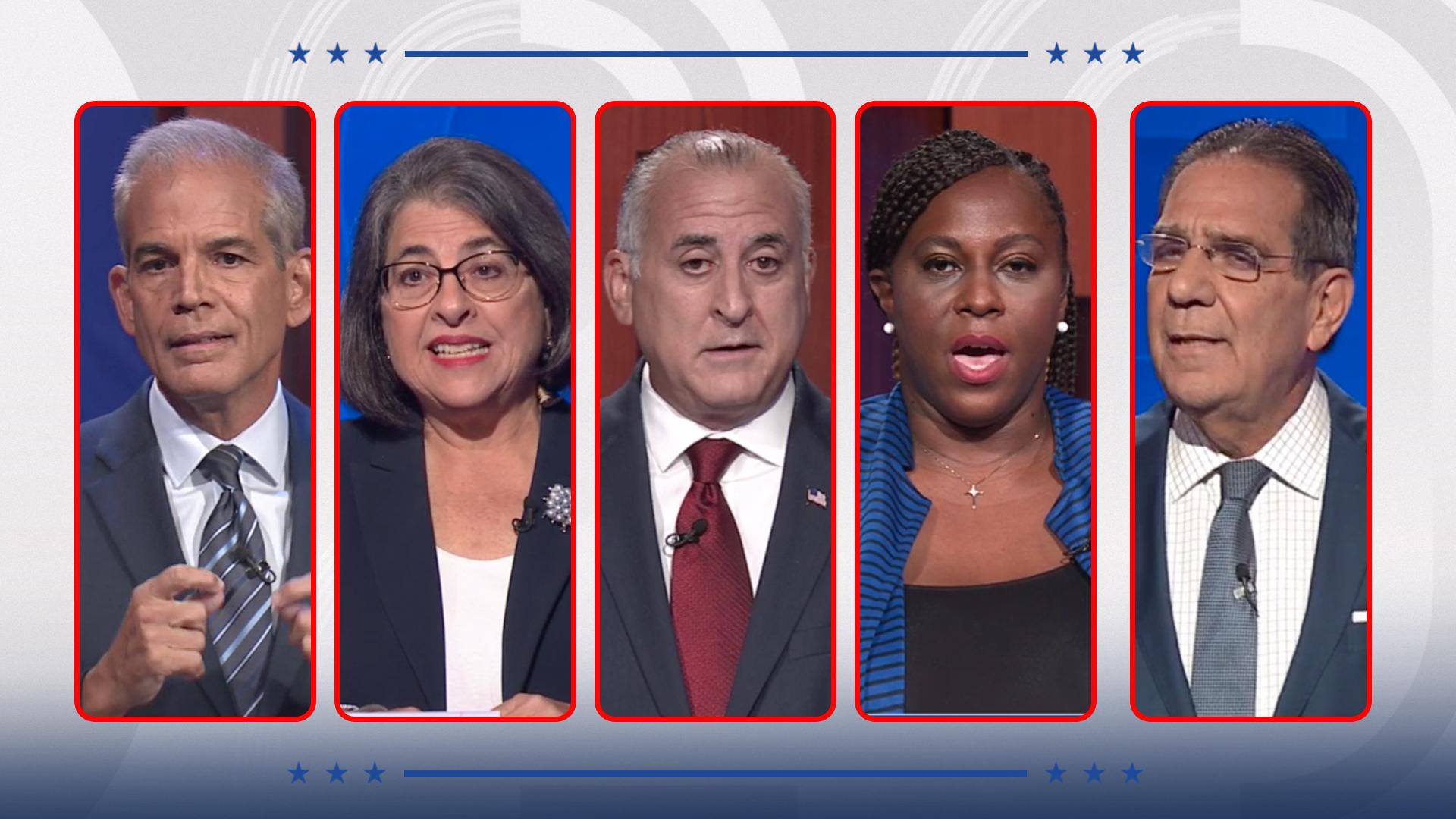 Así fue el debate de los candidatos a la alcaldía de Miami-Dade ...